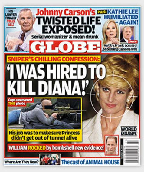 Pembunuh Putri Diana Menyerahkan Diri?